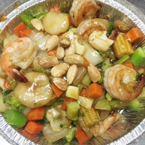 Shrimp Vegetable Almond