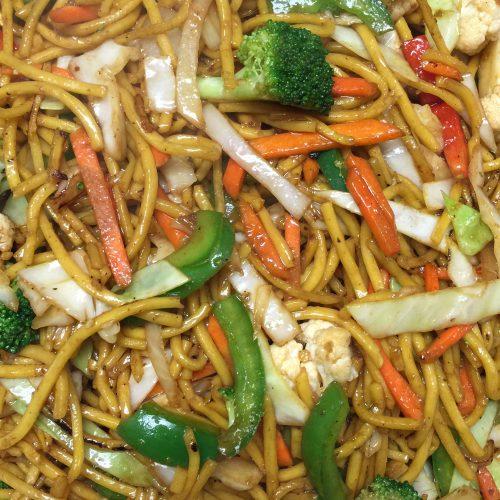 Vegetarian Shanghai Noodle